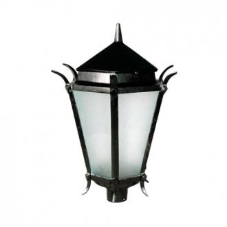 Luminária Colonial Decorativa Para Poste Francesa