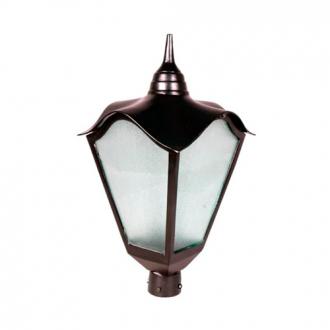 Luminária Colonial Decorativa Para Poste Romana Grande