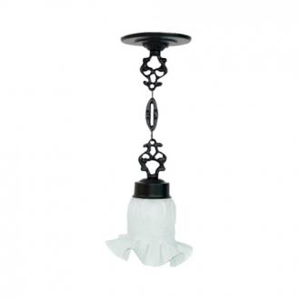 Luminária Colonial Decorativa Para Teto com Corrente Atlanta