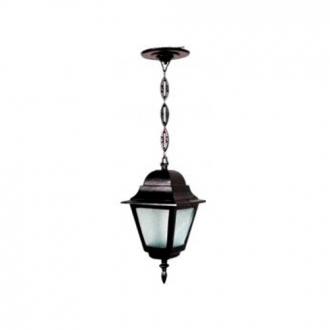 Luminária Colonial Decorativa Para Teto com Corrente Canadá Menor