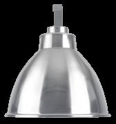 """Luminária Industrial 16"""" sem alojamento soqueteira"""