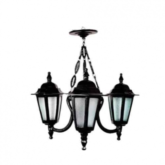 Lustre Colonial Holandês com 3 Luminárias