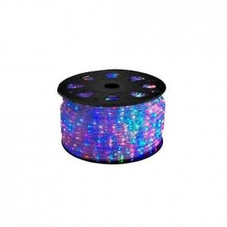 Mangueira LED 5050 Chata Colorido Rolo 100MTS