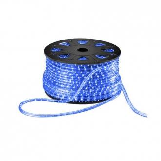 Luz de Natal Mangueira Luminosa LED Azul Rolo 100MTS