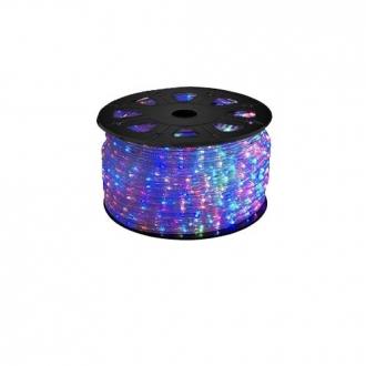 Luz de Natal Mangueira Luminosa LED Colorida Rolo 100MTS