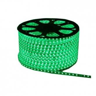 Luz de Natal Mangueira Luminosa LED SMD Verde 3014 Rolo 100MTS