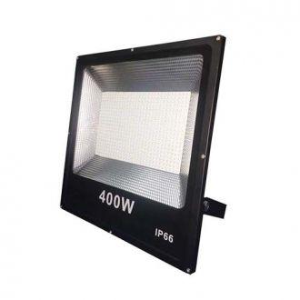 Refletor LED SMD 400W - Branco frio Preto
