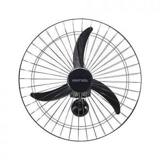 Ventilador Parede Oscilante 60CM Monovolt Preto - Premium