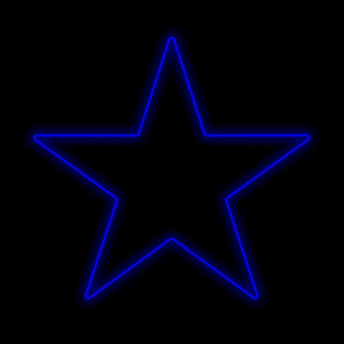 Figura Natalina Luminosa Estrelas de Jardim FIG-012A  - RJE ILUMINAÇÃO