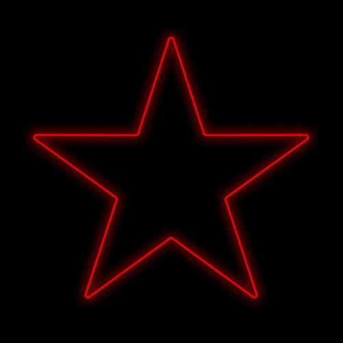 Figura Natalina Luminosa Estrelas de Jardim FIG-012B  - RJE ILUMINAÇÃO