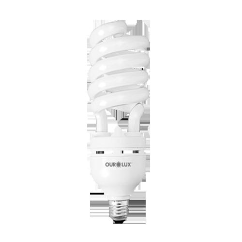 Lâmpada Fluorescente Espiral Luz Branca 33W 220V  - RJE ILUMINAÇÃO