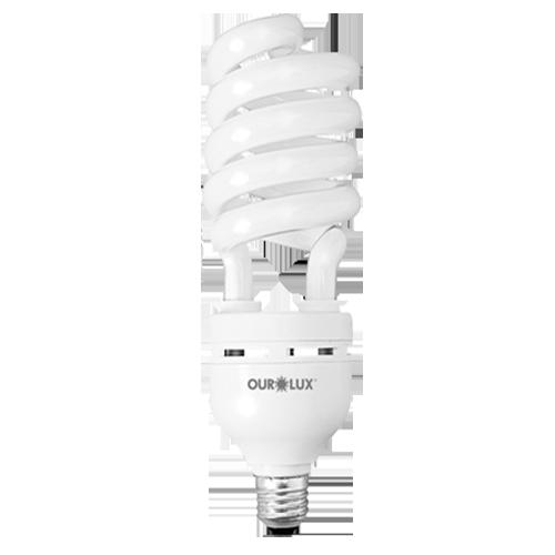 Lâmpada Fluorescente Espiral Luz Branca 45W 220V  - RJE ILUMINAÇÃO