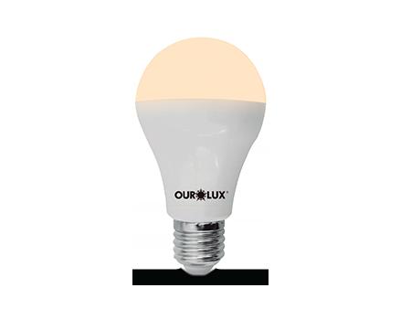 Lâmpada LED Bulbo Ouro 4.7W Bivolt 3000k  - RJE ILUMINAÇÃO