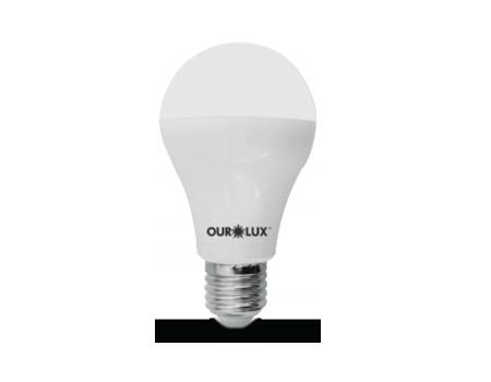 Lâmpada de LED Bulbo Ouro 9W Bivolt 6500k  - RJE ILUMINAÇÃO