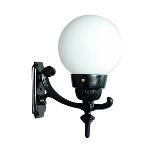 Luminária Colonial Decorativa Para Parede com Braço Globo Pequeno III  - RJE ILUMINAÇÃO