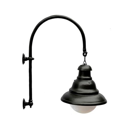Luminária Colonial Decorativa Para Parede com Braço Ipanema  - RJE ILUMINAÇÃO