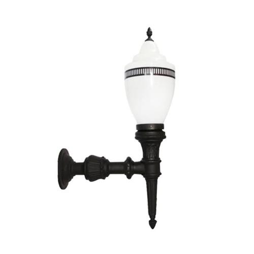 Luminária Colonial Decorativa Para Parede com Braço Republicana Grande  - RJE ILUMINAÇÃO