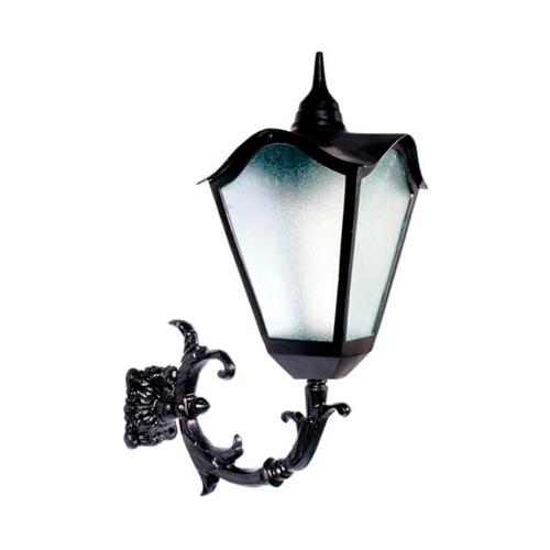 Luminária Colonial Decorativa Para Parede com Braço Romana Grande  - RJE ILUMINAÇÃO