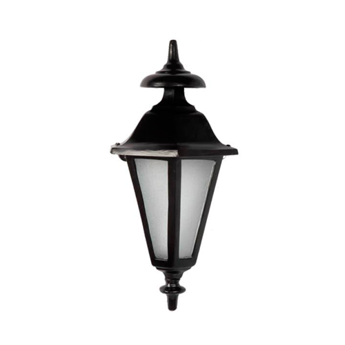 Luminária Colonial Decorativa Para Parede Meia Cara Verona  - RJE ILUMINAÇÃO