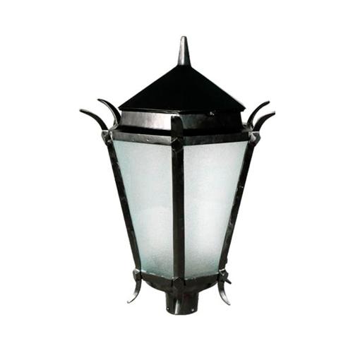Luminária Colonial Decorativa Para Poste Francesa  - RJE ILUMINAÇÃO
