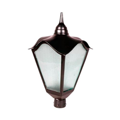 Luminária Colonial Decorativa Para Poste Romana Grande  - RJE ILUMINAÇÃO