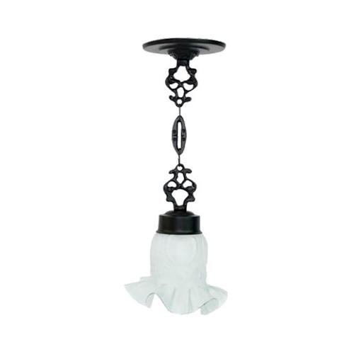 Luminária Colonial Decorativa Para Teto com Corrente Atlanta  - RJE ILUMINAÇÃO