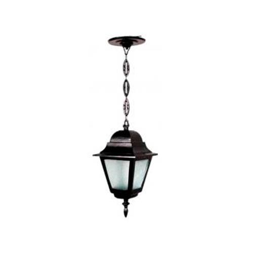 Luminária Colonial Decorativa Para Teto com Corrente Canadá Menor  - RJE ILUMINAÇÃO