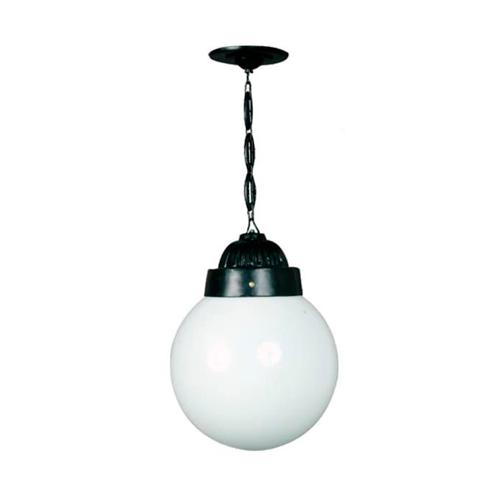 Luminária Colonial Decorativa Para Teto com Corrente Globo Grande  - RJE ILUMINAÇÃO