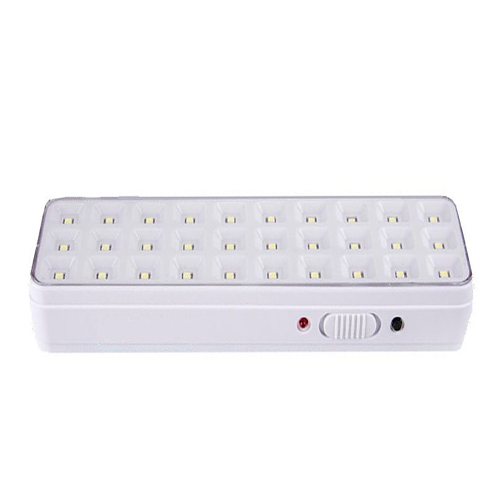 Luminária de Emergência 30 LED Slim  - RJE ILUMINAÇÃO
