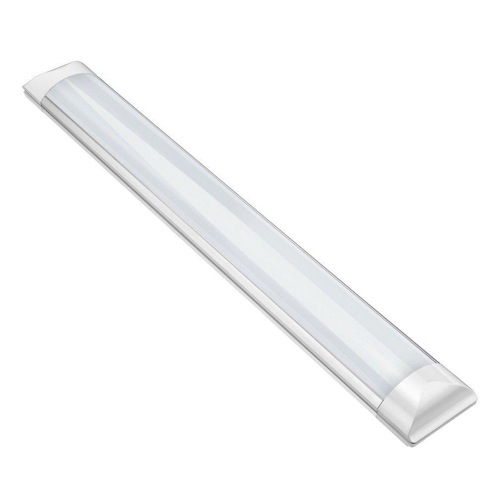 Luminária de Sobrepor LED SLIM 36W 6500K 120CM  - RJE ILUMINAÇÃO