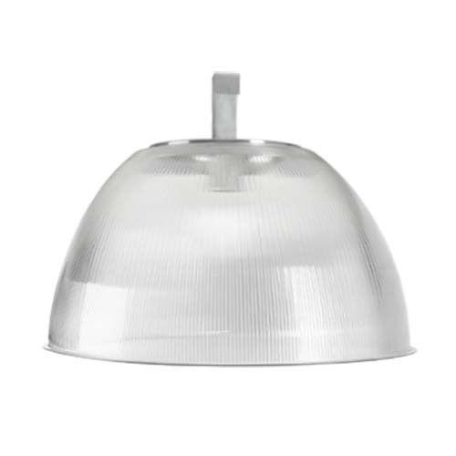 """Luminária prismática 16"""" prato e gancho  - RJE ILUMINAÇÃO"""