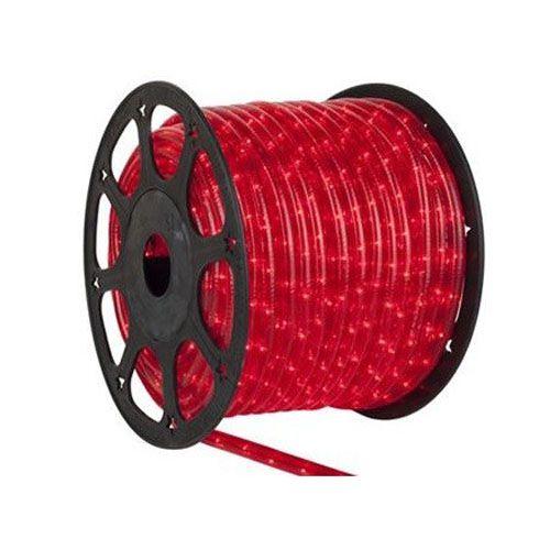 Luz de Natal Mangueira Luminosa Incandescente Vermelha Rolo 100MTS  - RJE ILUMINAÇÃO