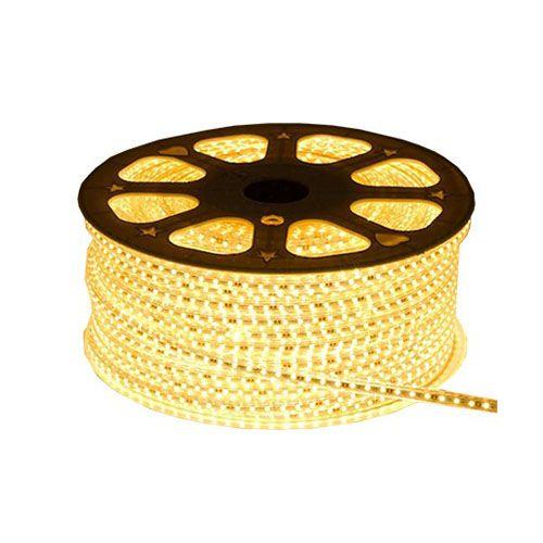 Luz de Natal Mangueira Luminosa LED SMD Amarelo 5050 Rolo 100MTS  - RJE ILUMINAÇÃO