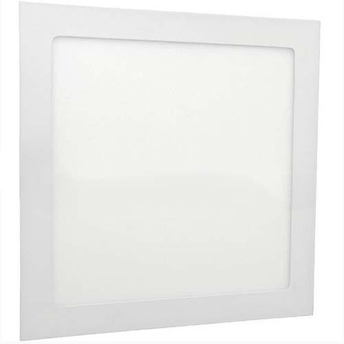 Plafon LED 12W Embutir Quadrado  - RJE ILUMINAÇÃO