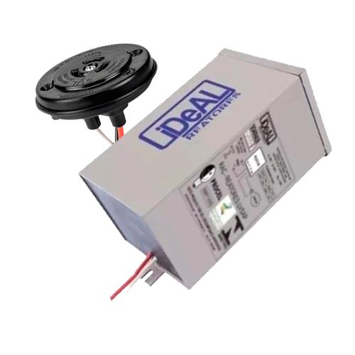 Reator de Descarga Vapor de Sódio 250W com Base Rele Externo  - RJE ILUMINAÇÃO