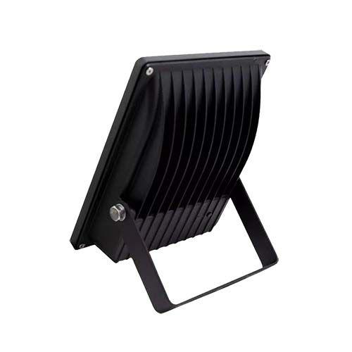 Refletor LED SMD 30W - Branco frio Preto  - RJE ILUMINAÇÃO