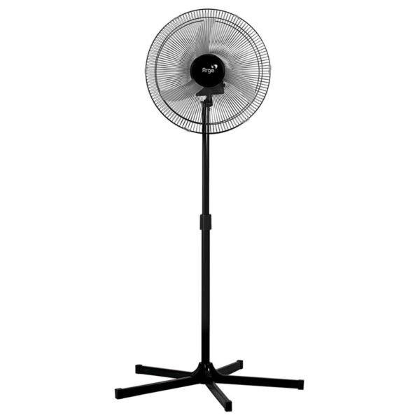 Ventilador de Coluna Oscilante 60CM Twister Preto Bivolt - Arge  - RJE ILUMINAÇÃO