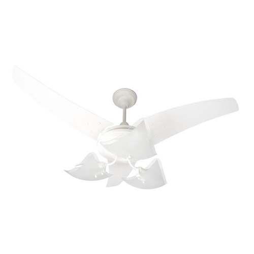 Ventiladores de teto - Majestic Lúmina Branco  - RJE ILUMINAÇÃO
