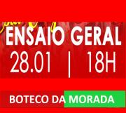 BOTECO DA MORADA - ENSAIO DE QUADRA 28-01-2018