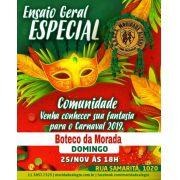 BOTECO - ENSAIO GERAL 25/11 - APRESENTAÇÃO DAS FANTASIAS