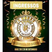INGRESSOS - 24 HORAS DE SAMBA-CARNAVAL 2020-28 e 29 de Setembro 2019