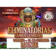 LOUNGE - FINAL DE SAMBA ENREDO- 01-09-2019- CARNAVAL 2020