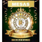 MESAS - 24 HORAS DE SAMBA de 01 a 30 - CARNAVAL 2020 - 28 e 29 de Setembro 2019