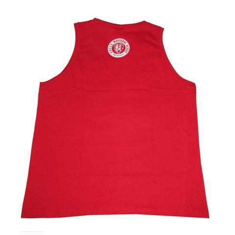 Regata vermelha de algodão com logo  - Mocidade Alegre