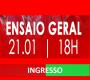 INGRESSOS - ENSAIO DE QUADRA  21-01-2018
