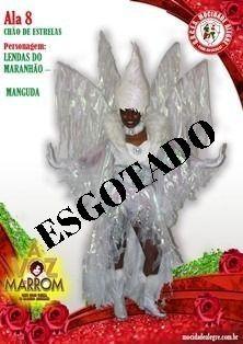 ALA  - 8 FANTASIA  LENDAS DO MARANHÃO MANGUDA - FEMININA  - Mocidade Alegre