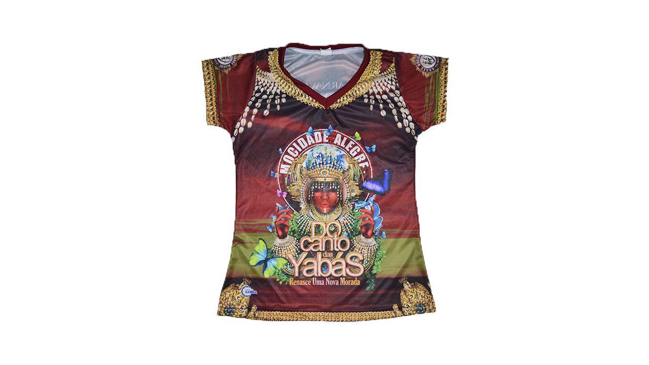 Baby Look  Carnaval 2020 - Do Canto das Yabás...  - Mocidade Alegre