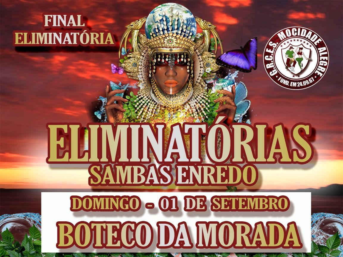 BOTECO - 01-09-2019 -  FINAL DE SAMBA ENREDO CARNAVAL 2020  - Mocidade Alegre