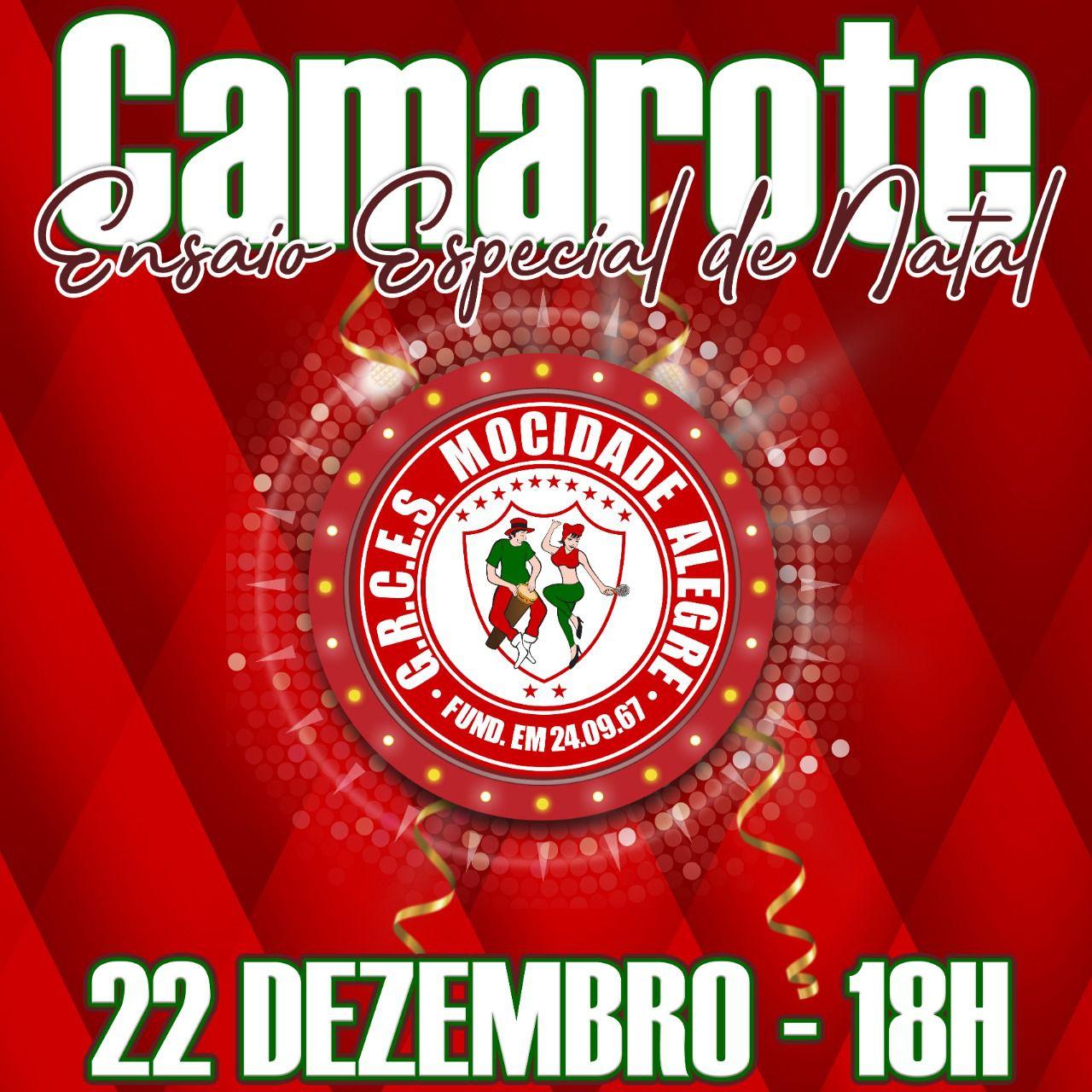 CAMAROTE - 22-12-2019 - ENSAIO GERAL  - Mocidade Alegre