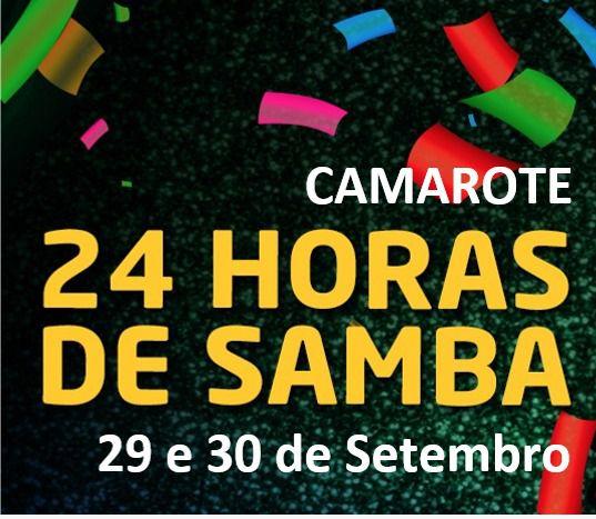 CAMAROTE - 24 HORAS DE SAMBA 2018  - Mocidade Alegre